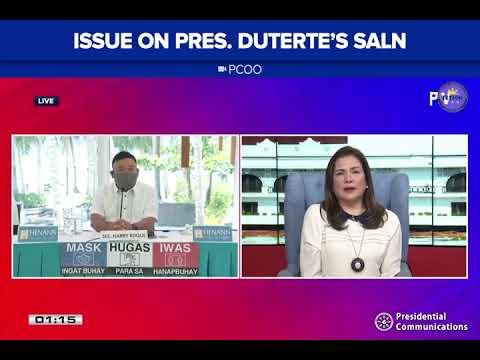 [News5]  Roque, makikiusap kay Pres  Duterte kaugnay sa isyu ng SALN