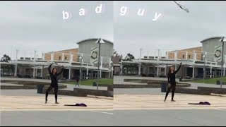 Bad Guy By Billie Eilish Color Guard Solo/Routine | Alison Chin