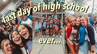 emotional last day of high school EVER... *VLOG*