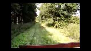 preview picture of video 'Przejazd pociągu specjalnego na trasie Białowieża Towarowa - Miejsce Mocy - Białowieża Towarowa'