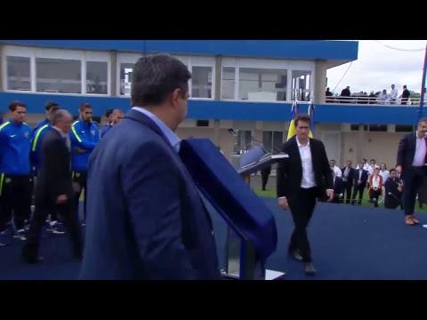 Video: El presidente Mauricio Macri presencia la inauguracion del predio de Boca Jrs