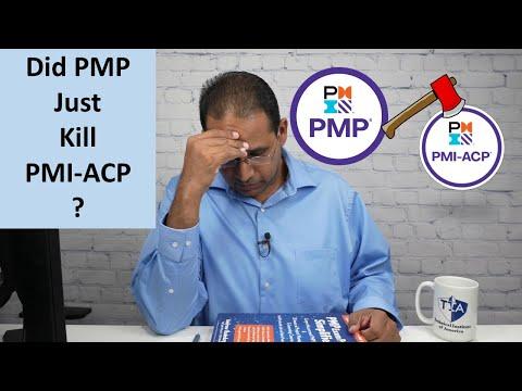 Did PMP Kill PMI-ACP? Is it Dead? - YouTube