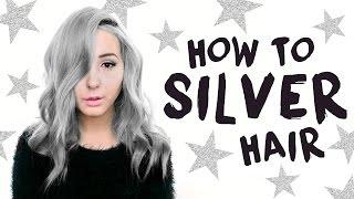 How To: Silver/Grey Hair Tutorial! | by tashaleelyn