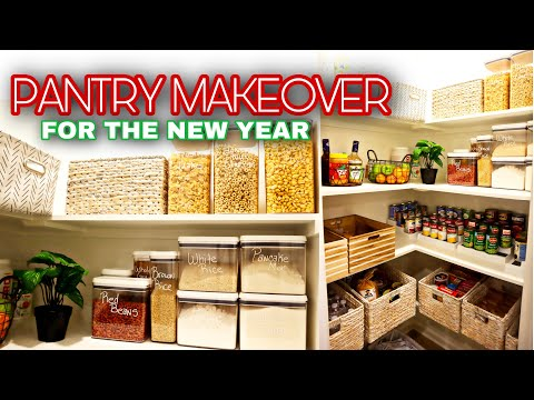 PANTRY ORGANIZATION FOR 2021 | TAKE YOUR PANTRY FROM BASIC TO BOUGIE