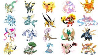 Top Pokemon Mega Evolutions Fanart Compilation - Fan Requests Week #2