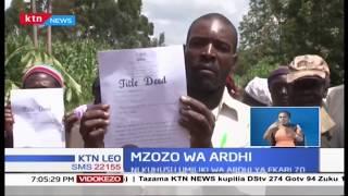 MZOZO WA ARDHI: Wakazi wa Mmbasu eneo la Likuyani waandamana