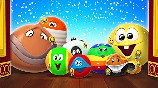 Christmas Party Fun?! SQUISHY OVERLOAD | Funny Cartoon For Children by Cartoon Candy