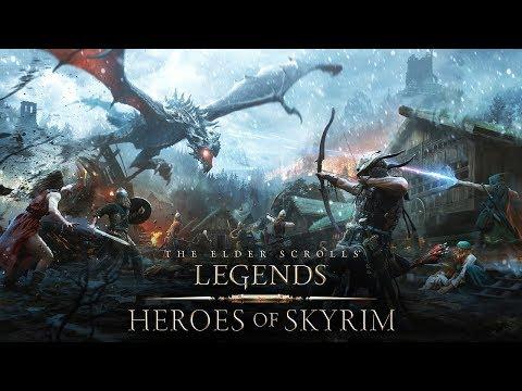The Elder Scrolls: Legends – Heroes of Skyrim Trailer thumbnail
