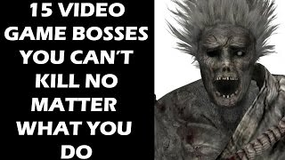 15 Video Game Bosses You Can