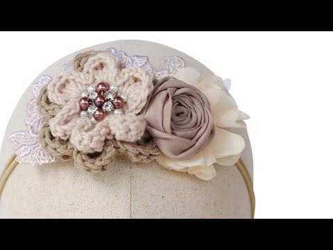 Handmade Headband for Baby - Tutorial by Anjurisa #8
