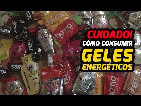 CUIDADO: Cómo consumir GELES ENERGETICOS