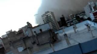 preview picture of video 'Tormenta de viento en Bahía Blanca, 29/01/2010.-'
