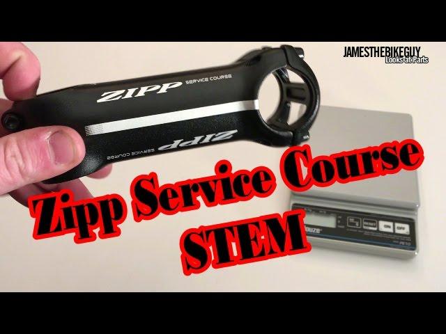 Видео Вынос Zipp Service Course 25° 90mm 1.125 Bead Blast Black, 6061, Universal Facep черный матовый