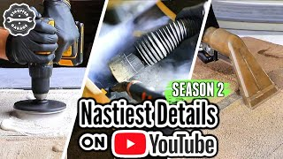The Nastiest Interior Detailing Transformations On Youtube!!! Complete Disaster Detailing Season 2