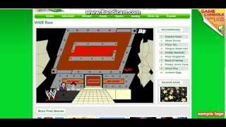 WWE Raw online Crappy Flash Game