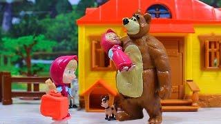 Маша и Медведь. Мультфильм для детей. Долгожданная встреча. Обзор игрушек