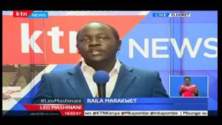 Leo Mashinani: Kinara wa CORD Raila Odinga atawazwa kama mzee wa Wakalenjin, 9/11/16