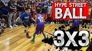 Hype Streetball vs Barangay Players
