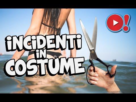 INCIDENTI DIVERTENTI IN COSTUME DA BAGNO | Videopazzeschi TV