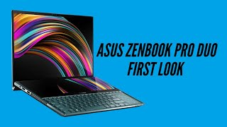First look: ASUS ZenBook Pro Duo UX581