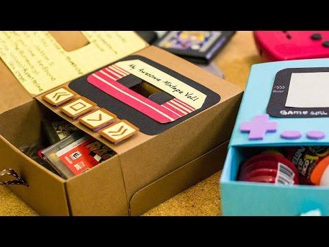 Gamebox: cajita de regalo 90's Rock! - Craftingeek