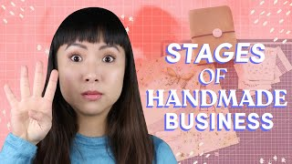 The 4 Stages Of Handmade Business | What You Need To Do At Each Level $1,000 - $100,000+