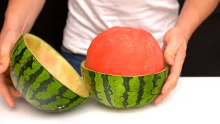 10 Amazing Watermelon LifeHacks!!