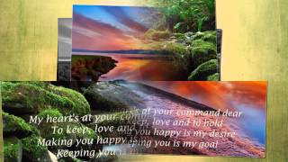 Pledging My Love - Emmylou Harris (Lyrics)