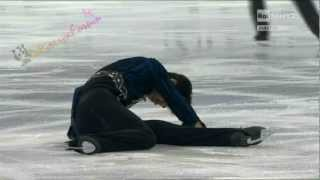 Cup of China 2012 -  COLLISIONE tra Adam Rippon e Nan Song 03/11/2012
