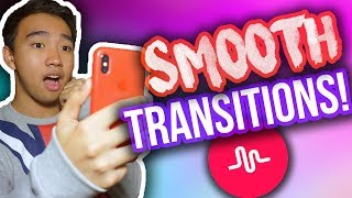 HOW TO DO SMOOTH TRANSITIONS ON MUSICAL.LY! (No Reflection, Zoom + MORE!)