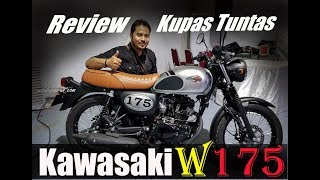 Video launching & review detil Kawasaki W175   Ganteng puolll !