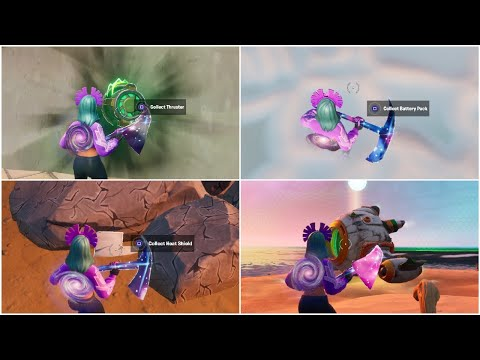 siona spaceship challenge guide all missing parts event launched fortnite spaceship challenges
