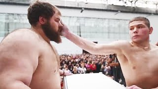 Slapping Is a Sport in Russia