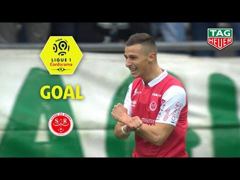 Goal Rémi OUDIN (10′) / Stade de Reims – AS Saint-Etienne (3-1) (REIMS-ASSE) / 2019-20