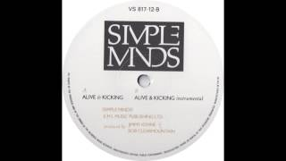 Alive And Kicking (Instrumental) - Simple Minds