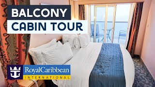 Independence of the Seas Balcony Cabin tour video