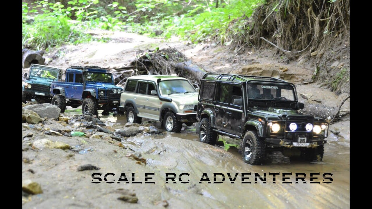 "Songs in ""4x4 off road rc adventures Land Rover defender 110"