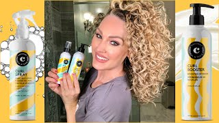 COCUNAT CURLY HAIR STYLING PRODUCT REVIEW | The Glam Belle
