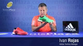 Ανδρικά παπούτσια τέννις Adidas Barricade Boost video