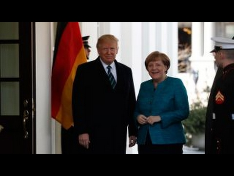 Nigel Farage: Trump, Merkel meeting is clash of cultures