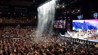 Andre Rieu Live in Cluj-Napoca. April 2019. Intro. Funny Snow Scene