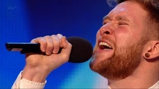 "Britain's Got Talent S08E03 Micky Dumoulin sings Les Miserables' ""Bring Him Home"""
