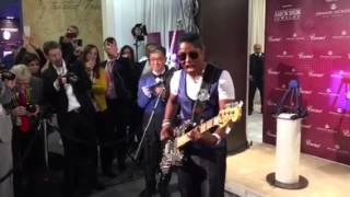Jermaine Jackson Guinness world record 2016 at Baselworld