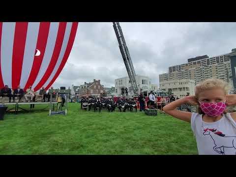 Flag Ceremony at the 2020 Atlantic City 911 Memorial Ceremony
