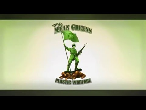 The Mean Greens - Plastic Warfare