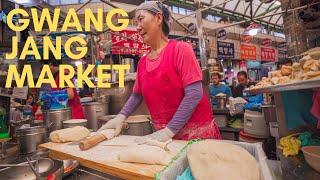 Gwangjang Market - Korean Street Food on NETFLIX Seoul!