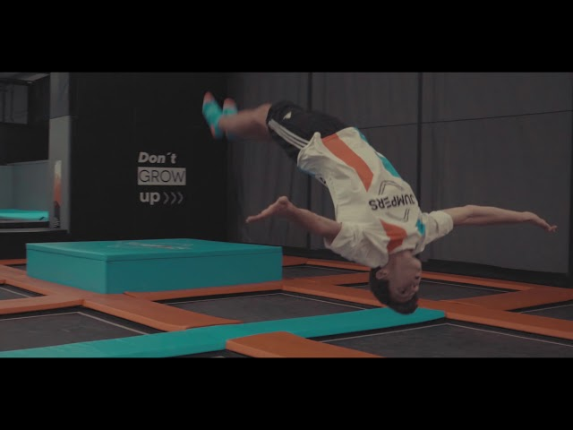 JUMPERS IN MOTION | Trampolins | Ninja | Festas de Aniversário | Team Building