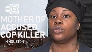 Mother of man accused of killing Nassau Bay police sergeant asks for son to turn himself in