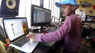Watch DJ Arch Jnr Create a Happy Birthday Song Using Logic Pro (6yrs old)