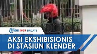 Penumpang KRL Jadi Korban Ekshibionis di Depan Stasiun Klender, Pelaku Malah Senyum dan Cengengesan